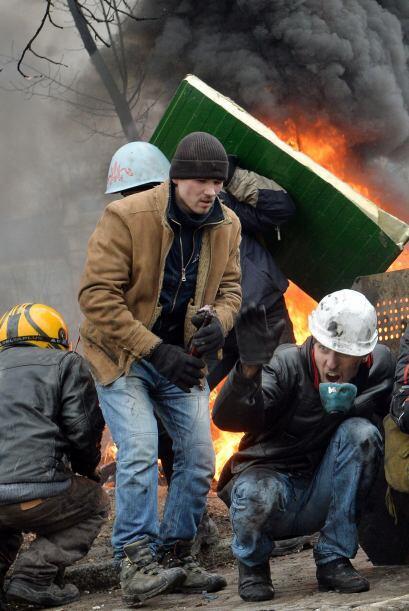 El ministro del Interior ucraniano, Vitaly Zakharchenko, dijo el jueves...