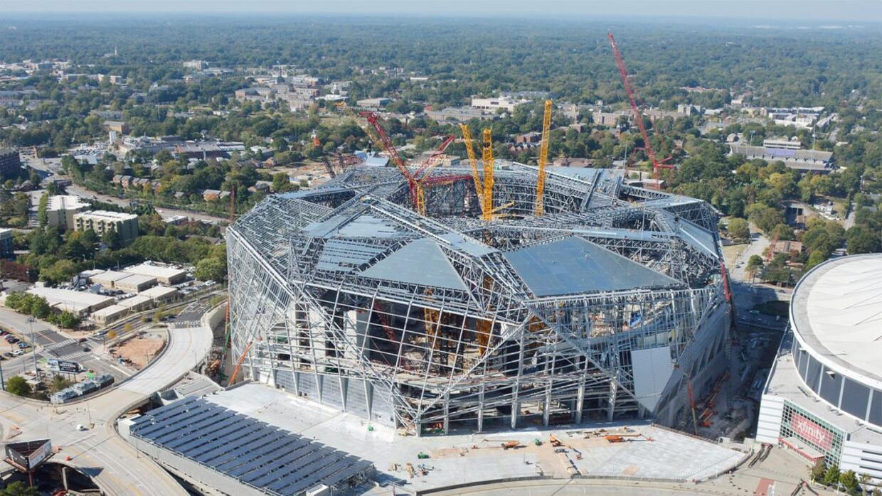 Atlanta united fc inaugurar el mercedes benz stadium a for Mercedes benz stadium atlanta united