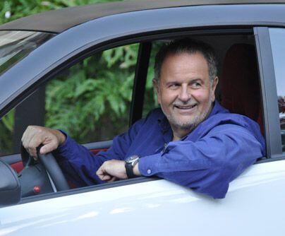 Siempre atentoEso sí, como a todo buen fanático de los autos, al Gordo l...