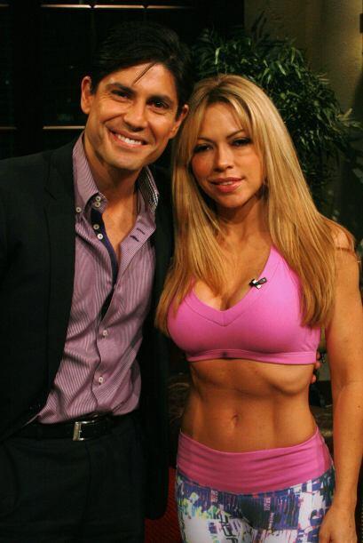 Claudia y Poncho son muy amigables, pero cuando se trata de entrenar son...