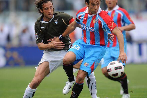 La Lazio visitó al Catania como parte de la jornanda 33 del fútbol itali...