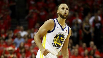 Warriors remontan a Rockets y van a la Final de la NBA por cuarto año consecutivo