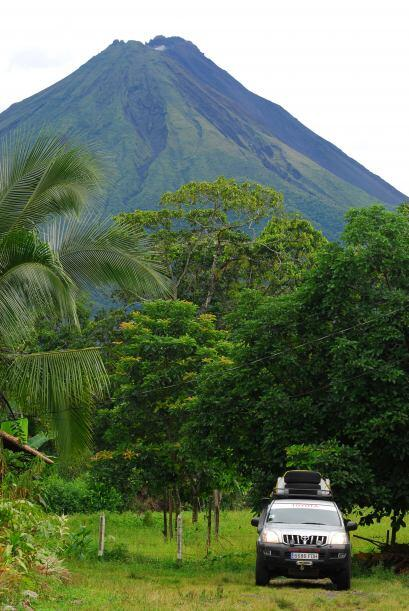 Montañas altísimas en Costa Rica.