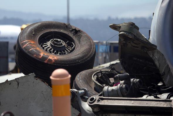 Las causas del accidente aún se están investigando aunque...