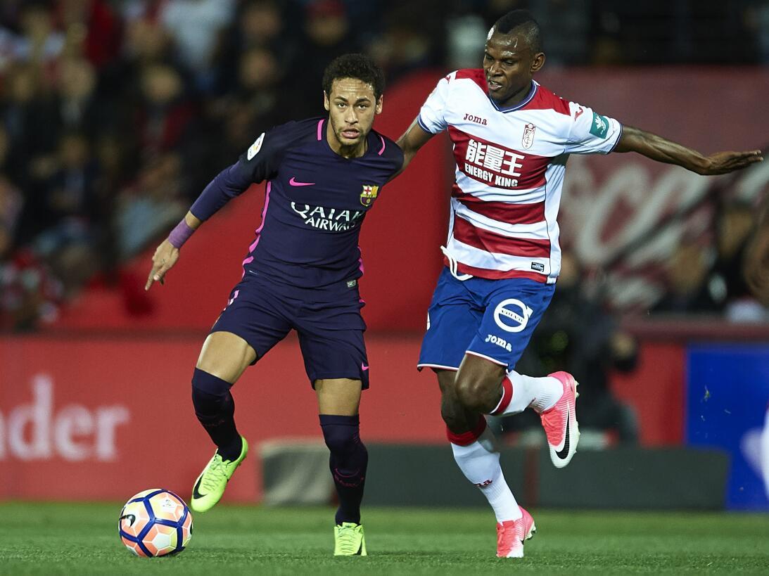 'Memo' Ochoa no pudo evitar la goleada del Granada ante el Barcelona Get...