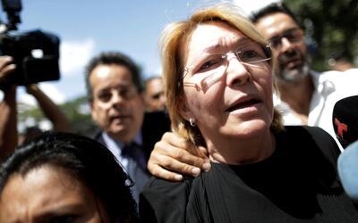 Luisa Ortega Diaz en una imagen de archivo en Caracas.