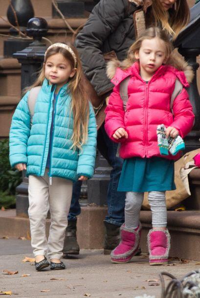 Qué tal las hijas de Sarah Jessica Parker, bien coordinaditas, 'fashion'...