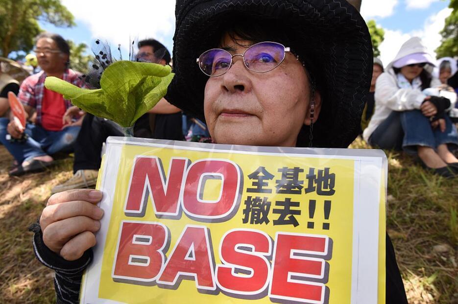 Protestan en Japón contra bases militares de Estados Unidos okinawa6.jpg