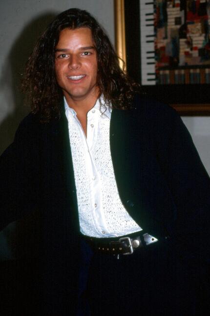 Ricky Martin en los 90s