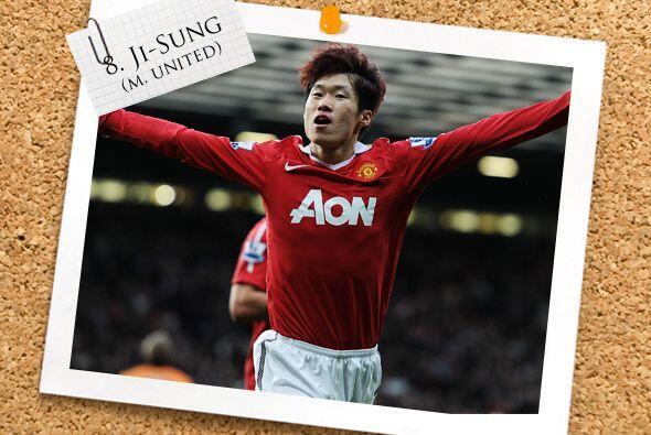 Otro tipo que no es un típico '9' pero sabe marcar goles es Park Ji-Sung...