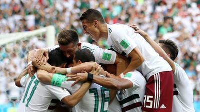 En fotos: México es líder del grupo F y sueña con octavos tras vencer 2-1 a Corea del Sur