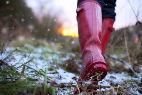 Son perfectas para tiempo de lluvia porque protegen tus pies a la perfec...