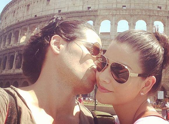 Sin lugar a duda un viaje inolvidable. Aquí los vemos felices en Roma.
