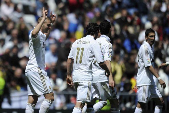 El atacante francés Karim Benzema se sumó a la lista de anotadores.