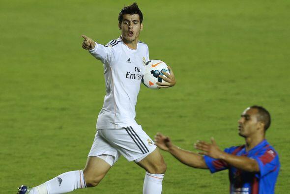 Casi sin tiempo para más, Morata, recién ingresado, empató el partido.