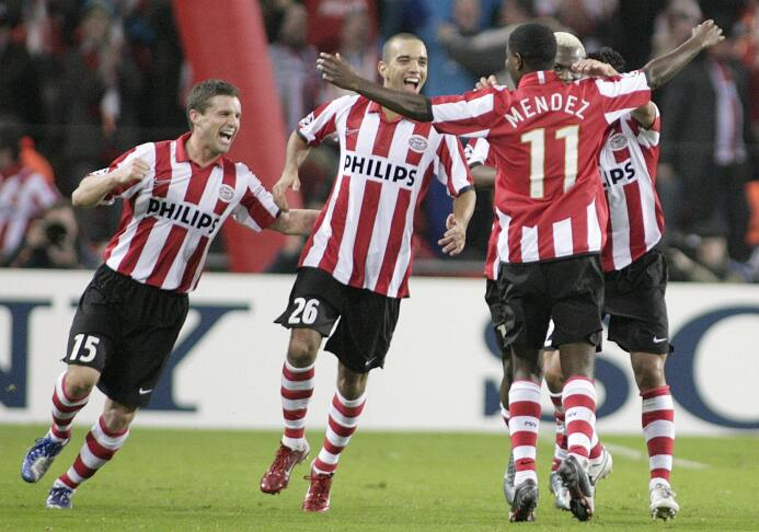 Romario, De Pinho, Salcido y otros predecesores del 'Chucky' en el PSV p...