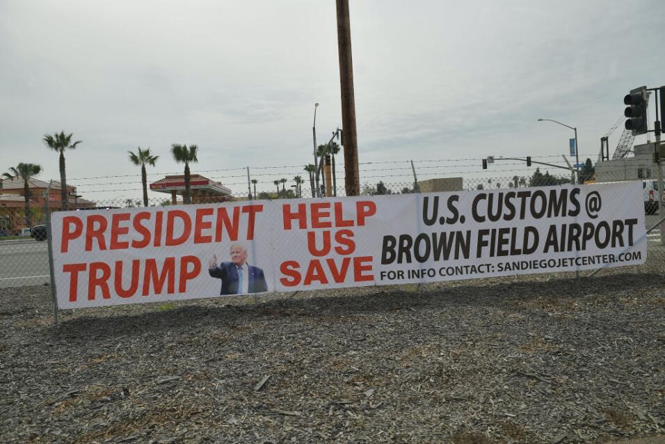 Trump en California