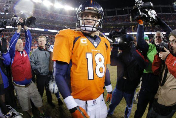 Peyton Manning con los Denver Broncos.