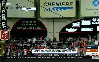 Contacto Deportivo Houston: Astros abre seguidilla de partidos como visi...
