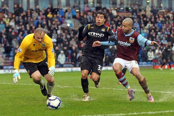La gran goleada se la propinó el Manchester City al Burnley.
