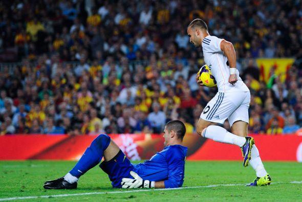 El Madrid descontaba así en el descuento.