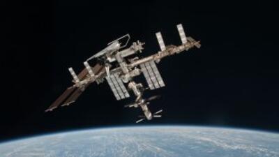 La captura del robot se hizo cuando la Estación Espacial Internacional o...