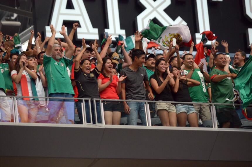 Un partido lleno de emociones en el 'Cowboys Stadium' en Arlington