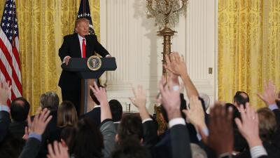Las relaciones entre el presidente y la prensa no han hecho sino empeora...