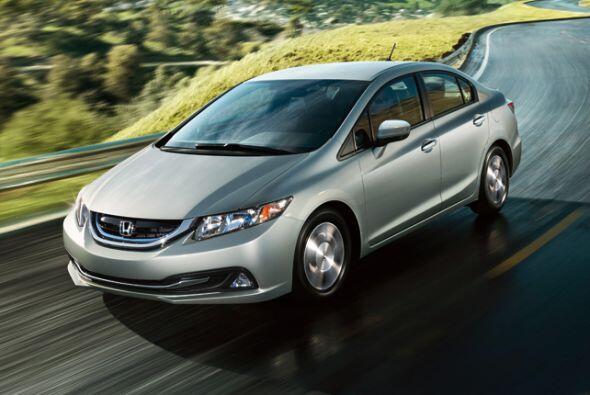 Honda Civic Hybrid 2015- Tan histórico como funcional. El Honda Civic se...