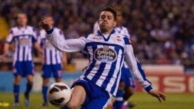 El Deportivo La Coruña dio otro paso hacia el descenso.