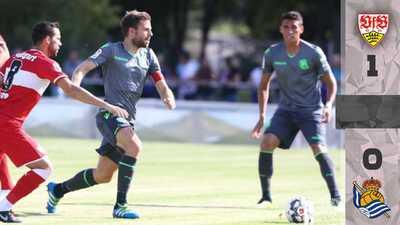 Héctor Moreno juega todo el partido en derrota de la Real Sociedad