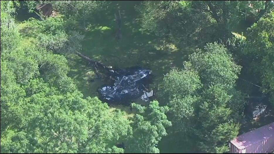 Una avioneta se estrelló al oeste de Houston.