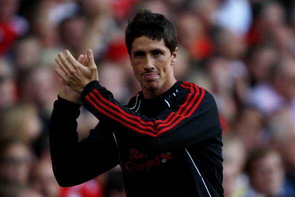 El atacante español Fernando Torres no fue parte de los once elegidos pa...