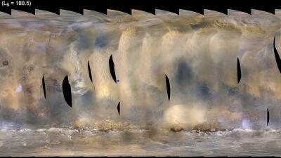 Una descomunal tormenta de polvo en Marte corta la comunicación de la NASA con la sonda Opportunity