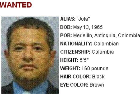 El narcotraficante colombiano Jorge Milton Cifuentes Villa, alias 'JJ' o...