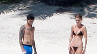 Gigi Hadid y Zyan Malik de románticas vacaciones en Tahití