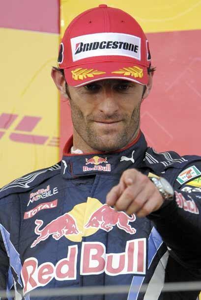 A pesar de su segundo lugar, Webber sigue de líder en el campeonato.