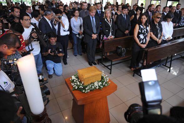 Poveda fue asesinado cuando visitaba La Campanera para coordinar una ent...