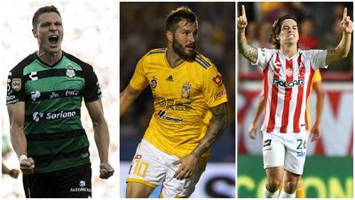 Disputa de titanes en la tabla de goleo de la Liga MX