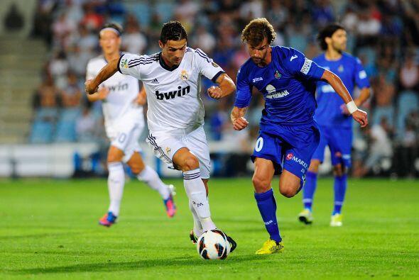 Real Madrid entró en acción en la fecha 2 de la Liga española en su visi...