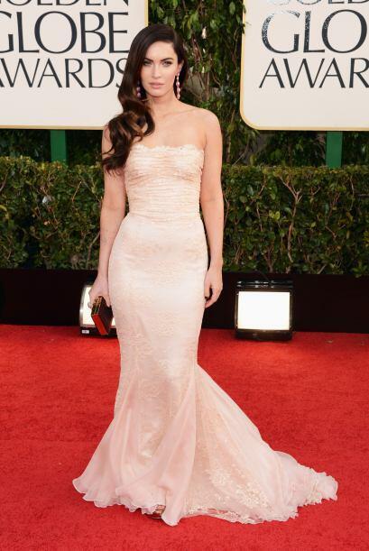 Natural, sencilla y muy bella es como se veía Megan Fox con su en...