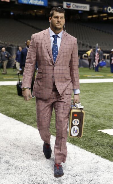 Los mejores 'outfits' de la semana 9 de la NFL por Eric Montgomery de NF...