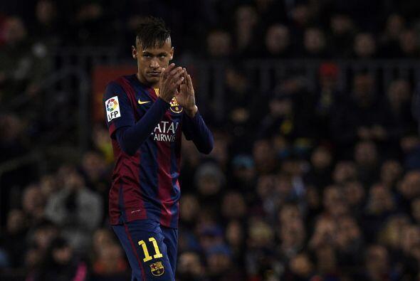 En la recta final del partido Neymar se perdería el tercero del Barcelon...