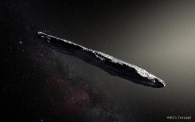 El extraño asteroide de otra galaxia.