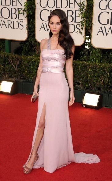 Uno de los vestidos más memorables de los Golden Globes fue el de Megan...