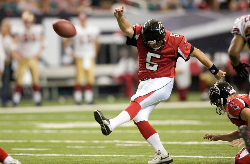 La NFL tiene nuevos 'inmortales' en el Salón de la Fama Morten Andersen...