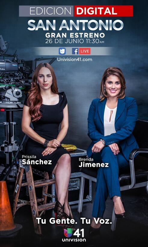 Prissila Sánchez y Brenda Jiménez presentan Edición Digital San Antonio