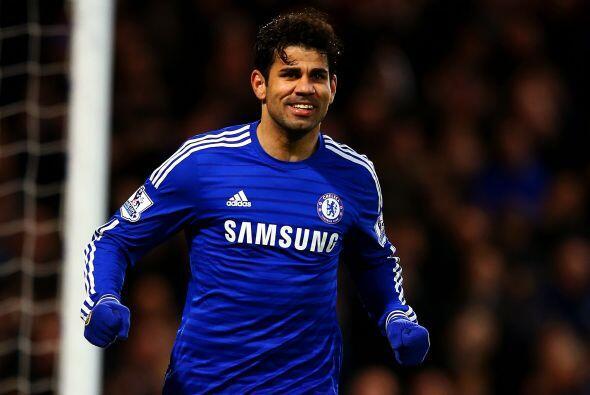 El atacante hispanobrasileño Diego Costa, que ha disputado el 78 por cie...
