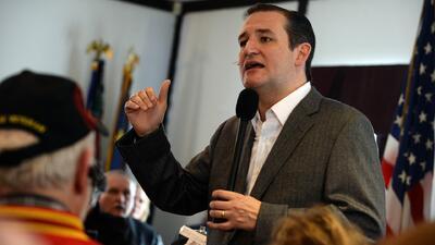 Ted Cruz tendría un problema al conseguir el apoyo del electorado hispan...