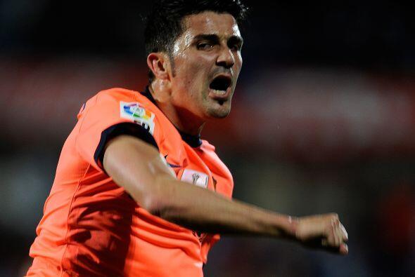 El goleador David Villa marcó por segundo partido en fila.
